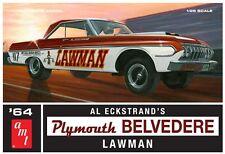 AMT Al Eckstrand's 1964 Plymouth Belvedere Lawman Super Stock model kit 1/25