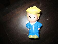 Fisher Price Little People Village Eddie Eddy Garage mechanic car driver bus boy