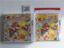 PAPER MARIO STICKER STAR NINTENDO 3DS 100% COMPLETE 1ST PRINT ORIGINAL