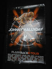 JOHNNY HALLYDAY 80s FLASHBACK TOUR RARE AFFICHE FRENCH POSTER ORIGINAL