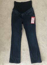 Blooming Marvelling Maternity Jeans Over The Bump Mothercare Denim Bootcut UK 8S