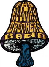 The Allman Brothers Mushroom Logo Music Band Embroidered Iron On Patch, New
