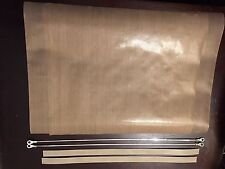 "2 Repair Kits 12"" pedestal & automatic  2mm Impulse Sealers Wire, top & bottom"