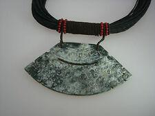 Edelsteinschmuck Halskette aus Antikjade Designer Schmuck Unikatschmuck neu 1031