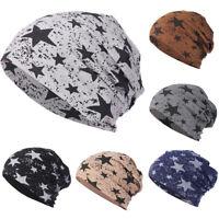 Men Women Casual Star Warm Crochet Winter Knit Ski Beanie Skull Slouchy Caps Hat
