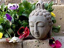 Adorabile Buddha Statua Testa per la casa o in giardino. dal designer sius
