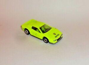 HOT WHEELS Loose Ferrari Testarossa (Day Glow Yellow Version)