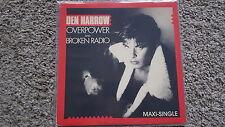 Den Harrow - Overpower/ Broken radio US REMIX 12'' Italo Disco Vinyl