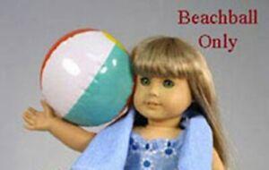 "New - Beach Ball #7017 - for 18"" American Girl Dolls / Play Dolls"