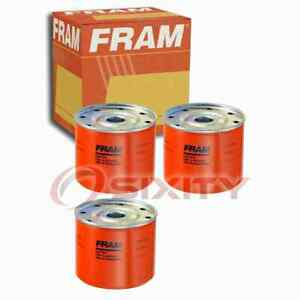 3 pc FRAM C1191A Fuel Filters for 159274A1 57803 59365-CS 71416241 HF6399 vc