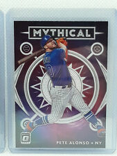 Pete Alonso 2020 Donruss Optic Baseball - Mythical Insert - New York NY Mets