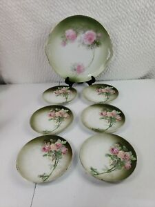 Bavarian Cake Plate and Dishes