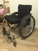 lightweight self-propelling  quickie argon ti wheelchair