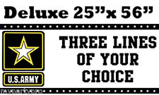 ARMY STRONG DELUXE CUSTOM BANNER Party Supplies FREE SHIPPING