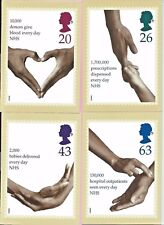GB 1998 PHQ Cards -Complete set - 50th Ann NATIONAL HEALTH SERVICE - Unused MINT