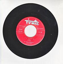 """Emile CARRARA Vinyle 45T 7"""" PALOMA - YO VENDO Musette TYPIC 22 F Rèduit RARE"""