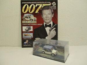 ( UK ) 1/43 Mini Moke  #24 mit Heft James Bond 007