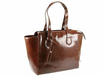 Visconti Womens Luxury Leather Shoulder Handbag Tote Shopper Bag  - ITL81