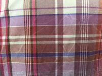ExOfficio Plaid Crinkle-Wash Shirt Mens Large Burgundy Short Sleeve Metal Button