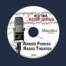 Armed Forces Radio Theater Old Time Radio Shows Thriller 6 OTR MP3 on 1 Data DVD