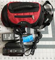 CANON VIXIA HV30 MINI DV HDV CAMCORDER CAMERA VIDEO MOVIE RECORDER Charger Case