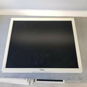 """MONITOR SCHERMO LCD DISPLAY 17"""" 4:3 QUADRATO FUJITSU VGA DVI CASSE IVA INCLUSA"""