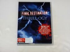 "FINAL DESTINATION TRILOGY DVD (PAL,2006,3-Disc Set) - ""LIKE NEW CONDITION"""