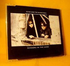 MAXI Single CD Echo & The Bunnymen Scissors In The Sand 3TR 2006 Rock PROMO !