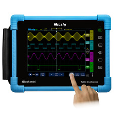 Micsig Tablet Oscilloscope 100MHz 4CH 1GSa/s tBook TO1104 Battery Serial Decode