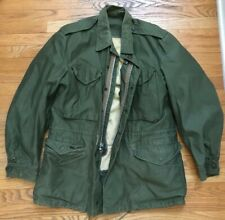 Vintage 1950s M-1951 Medium M Field Jacket Korean War Military