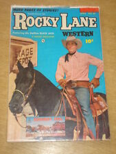 ROCKY LANE WESTERN #48 VG (4.0) FAWCETT COMICS APRIL 1953