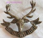 IN12343 - WW1& 2 Seaforth Highlanders Cuidich 'N Righ Scottish Cape Badge