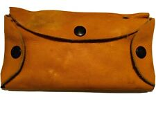 Leather Fly Fishing Wallet With 24 Flies