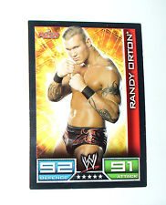 CARTE DE CATCH SLAM ATTAX RAW RANDY ORTON
