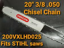 "20"" Oregon Versacut Bar & Chisel Chain STIHL MS660 MS 660 Chainsaw 200VXLHD025"