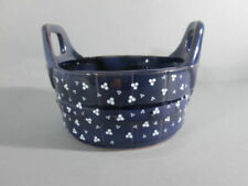 Gepunktete Servierplatten & -schalen aus Keramik für die Küche