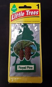 Little Trees Car Air Freshener ROYAL PINE Hanging Mirror Scent Fragrance SALE!!