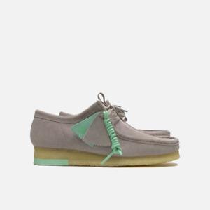 Clarks Originals Wallabee Men's Suede Shoes Grey Combi