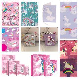 Unicorn Gift Bags Unicorn Gift Wrap Unicorn Christmas Gift Bag Choices