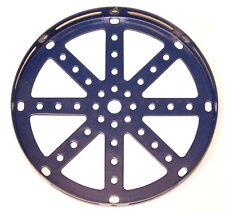 """Meccano Part 118 Hub Disk 5½"""" Blue"""
