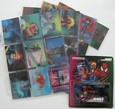 1996 Fleer/Skybox MARVEL MOTION Complete 30-Card Set w/Checklist Package nm/MINT
