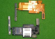 Lg Optimus p970 tarjeta SIM tarjeta de memoria SD lector Card Reader hembra intercalar ninguna