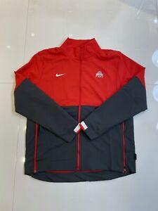 Nike On Field Ohio State Buckeyes Half-Zip Coaches Jacket CQ5119-657 Men's Large