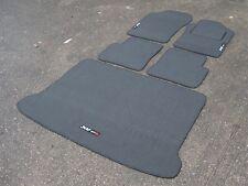 "Car Mats in Grey to fit Peugeot 306 + Boot Mat + ""306 GTi 6"" Logos (x3)"