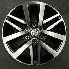 Toyota Hilux SR5 2015-2016 Genuine 18x7.5 Alloy wheel x 4 - NEW 2015-2017 model
