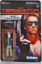 "T-800 TERMINATOR LEATHER JACKET The Terminator 3 3/4"" Reaction Retro Figure 2014"