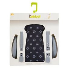 "Qibbel Rear Bicycle Child Seat Cushion/Armrest Styling Set ""FAMILY BLACK Pattern"