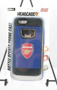 Arsenal Football Club Bottle Opener iPhone 6 Case Blue Black by Headcase T3