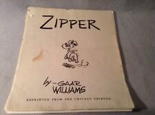 1930's Zipper By Garr Williams Chicago Tribune Cartoonist Portfolio