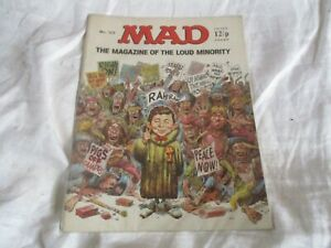 MAD MAGAZINE U.K. EDITION No 125 MAGAZINE OF THE LOUD MINORITY